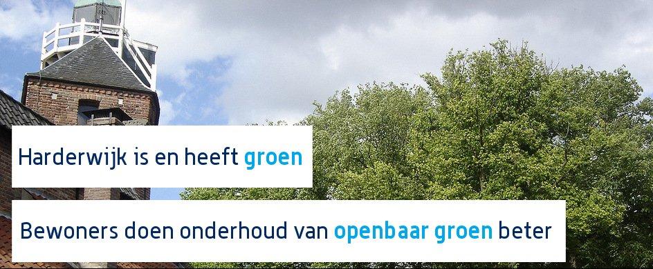 Harderwijk is en heeft groen